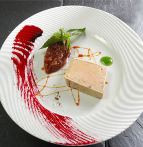 Assiette foie grasjpg pictures for Assiette foie gras decoration